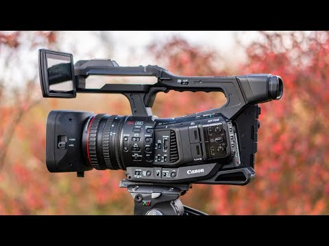 The Camcorder of the Future? | Canon XF705 - First Look
