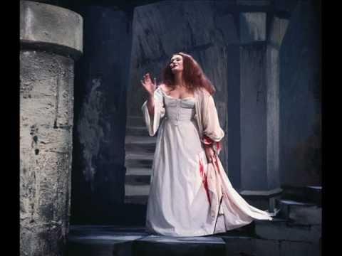 Dame Joan Sutherland. Il dolce suono. Lucia di Lammemoor. (I/II)
