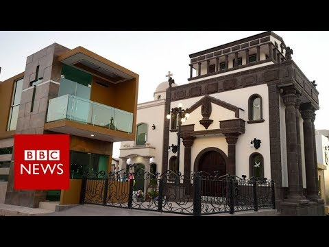 Mexico's $500,000 bulletproof graves - BBC News