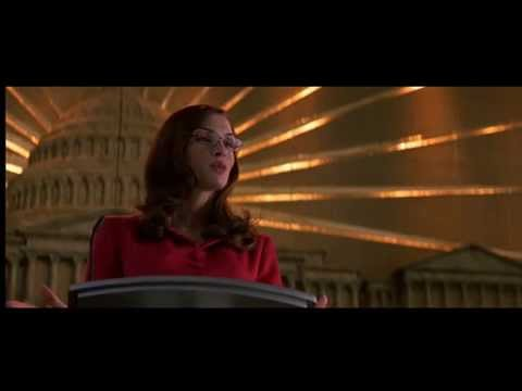 X-Men (2000) - Jean Grey and Senator Kelly Discussing Mutants