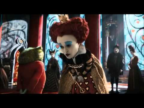 Helena Bonham Carter - Red Queen (Alice in Wonderland) - Best Scene