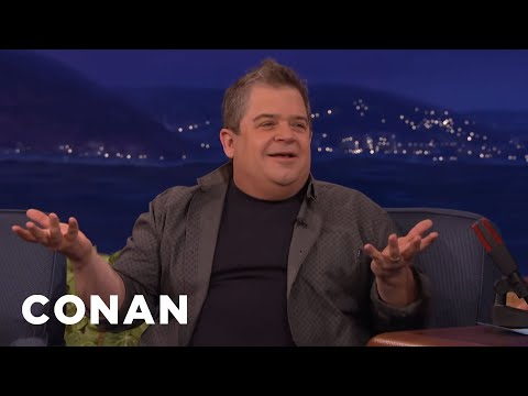 How Patton Oswalt & His Daughter Are Coping With His Wife's Passing | CONAN on TBS