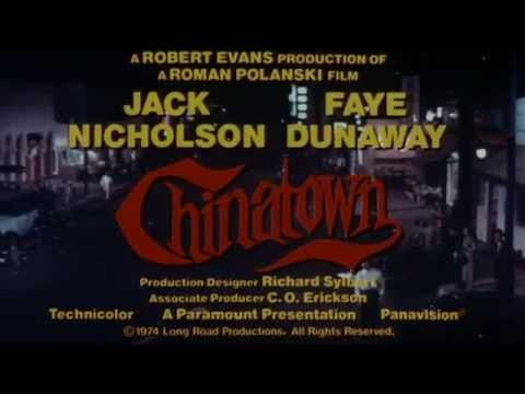 """Chinatown"" (1974) Trailer - Jack Nicholson, Faye Dunaway"