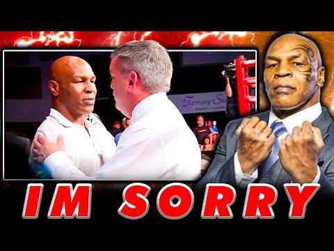 Mike Tyson apologizes to Teddy Atlas