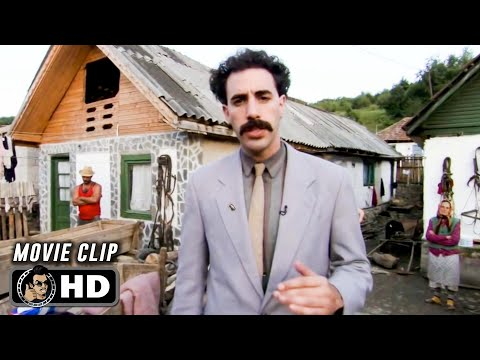 BORAT Clip - My Name Borat (2006) Sacha Baron Cohen