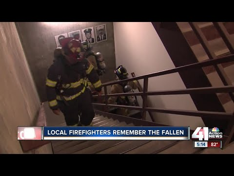 Firefighters climb 110 stories to honor lives lost in 9/11