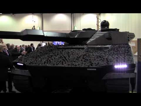 BAE Systems' Adaptiv infra-red 'invisibility cloak' for military vehicles