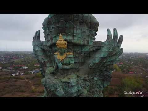 GARUDA WISNU KENCANA STATUE (GWK) Bali Indonesia, It designed to be the Indonesia's TALLEST statue.