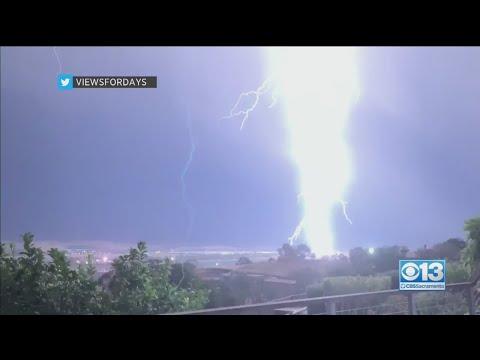 Rare Ball Lightning Captured On Video