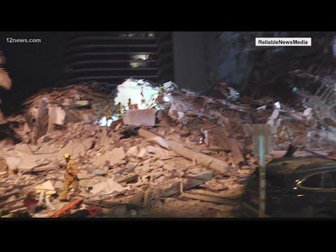 Arizona man helps rescue boy from rubble in Miami condo collapse