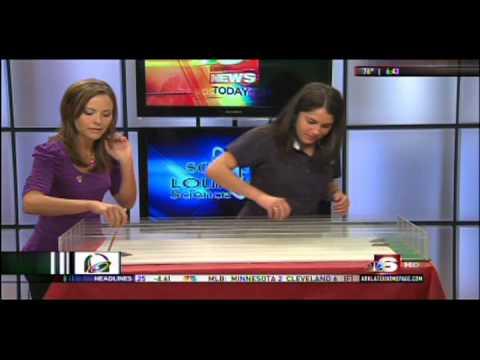 NBC 6 Hissing Cockroach Race