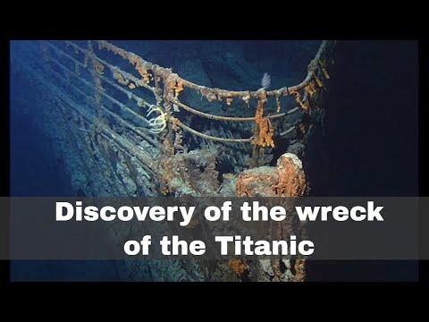 1st September 1985: Wreck of the Titanic discovered by Robert Ballard