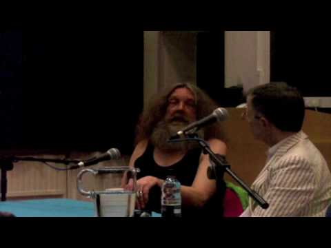 Alan Moore at the Magus conference 2010 4/5