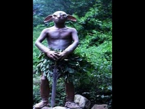 MONSTER GOLLUM CREATURE PHOTOGRAPHED AND VIDEOED IN FOREST