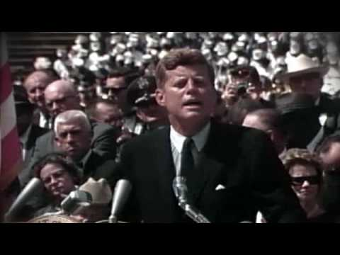 "John F. Kennedy: ""We choose to go to the moon"" speech"