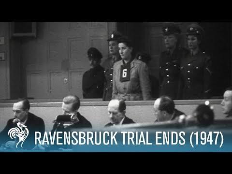 Ravensbruck Trial Ends: WWII Nazi War Criminals (1947) | British Pathé