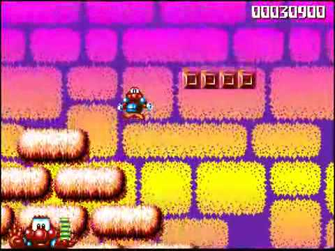 JAMES POND 2: Robocod - Intro & Gameplay
