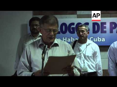 Colombian govt, FARC continue peace talks, Uribe accused of crimes against humanity