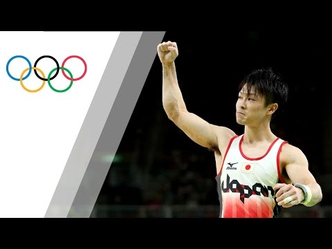 Japan's Uchimura wins Men's Artistic Gymnastics Individual All Around gold