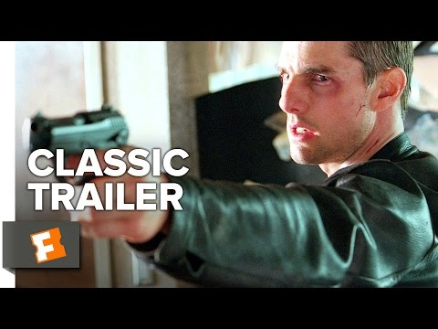 Minority Report (2002) Official Trailer #1 - Tom Cruise Sci-Fi Action Movie