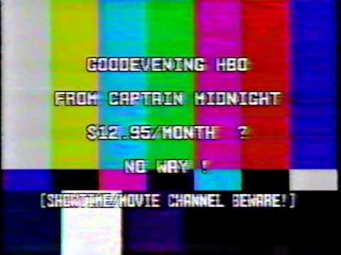 Captain Midnight, HBO, 1986