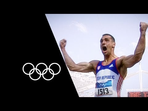 Roman Šebrle Sets Incredible Decathlon Olympic Record | Olympic Records