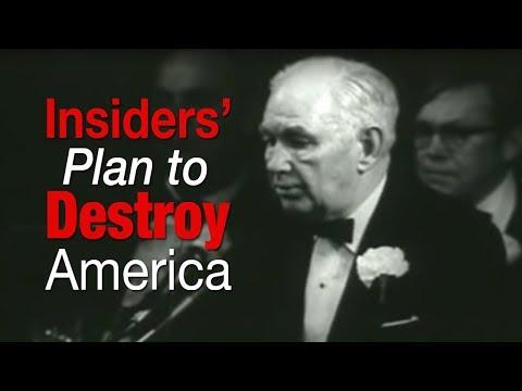 Robert Welch Predicts Insiders' Plans to Destroy America (1974 Speech)