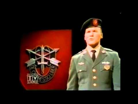 Ballad of the Green Berets - [HD] - - - SSGT Barry SADLER