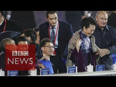 When Singles Day, Putin and China's first lady collided
