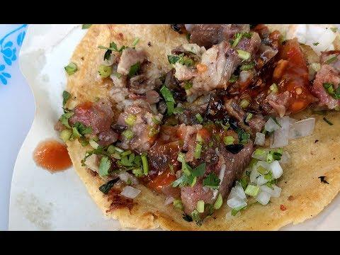 Cow Eyeball Tacos (Ojo) - Mexico City Street Food