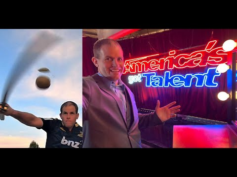 AGT Reject Kiwi Slicing Guinness World Record