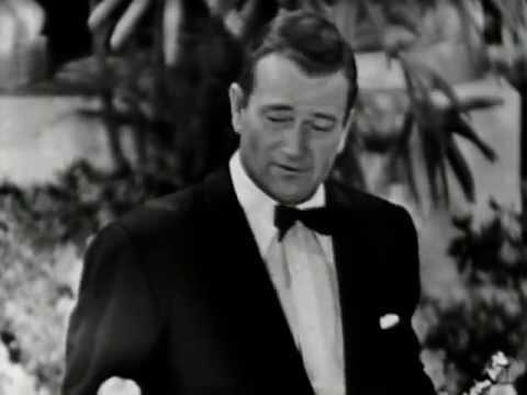 "Gary Cooper winning Best Actor for ""High Noon"""