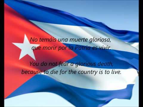 "Cuban National Anthem - ""La Bayamesa"" (ES/EN)"