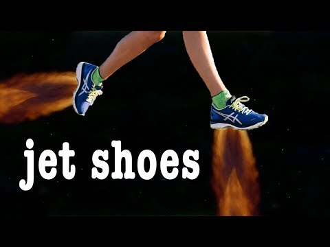 NASA Once Promised us Jet Shoes!