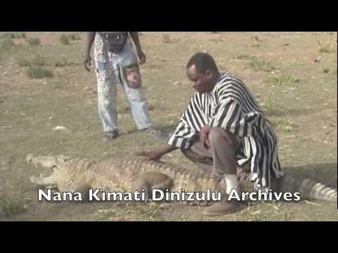 The Sacred Crocodiles of Paga - Ghana, West Africa