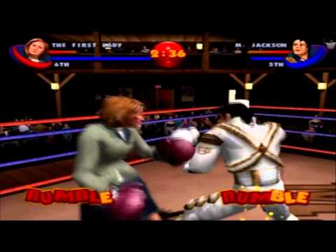 Ready 2 Rumble Boxing Round 2 - The First Lady Playthrough