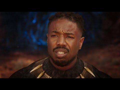 Killmonger Death Scene HD - Black Panther