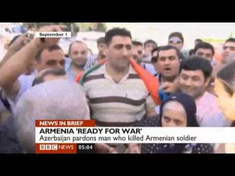 Armenia ready for war with Azerbaijan BBC Report