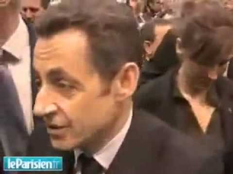 Casse toi pauv' con ! Nicolas Sarkozy