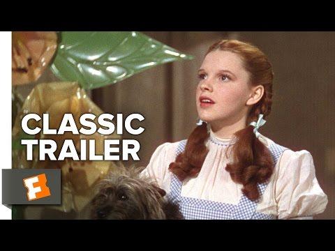 The Wizard of Oz (1939) Original Trailer - Judy Garland Movie