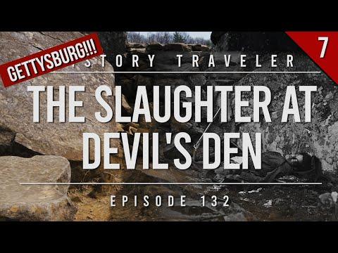 The Slaughter at Devil's Den (Gettysburg) | History Traveler Episode 132