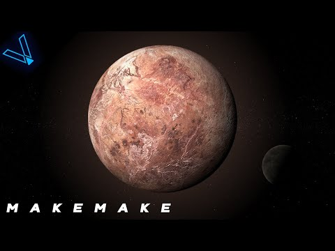 Makemake - The Icy Red World (Beyond Pluto Episode 2) 4K UHD