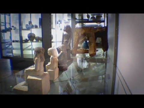 Mystery of spinning 'cursed' Egyptian statue is solved at Manchester Museum
