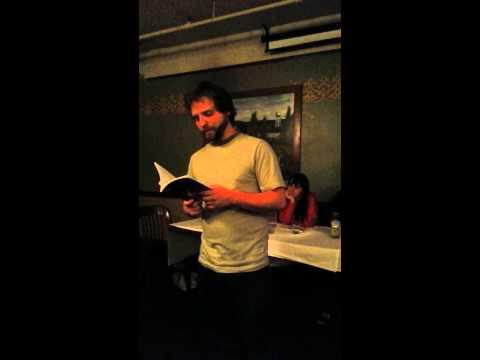 BizarroCon 2012 - G. Arthur Brown reading Kitten at the New Bizarro Author Series Reading Panel