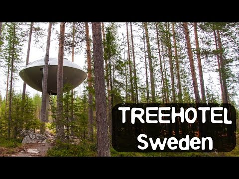 Treehotel Sweden - The famous Mirror Cube, the UFO and more!
