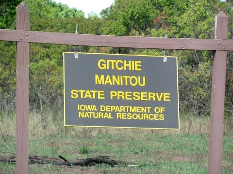 GITCHIE MANITOU STATE PRESERVE RUINS | HAUNTED | IOWA