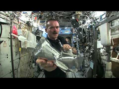 Wringing out Water on the ISS - for Science!