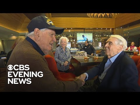 WWII shipmates reunite 74 years later thanks to a daughter's Facebook post