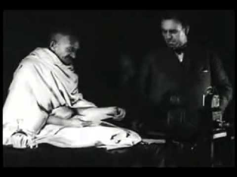Gandhi Soldier of Peace - Non-Violence Speech