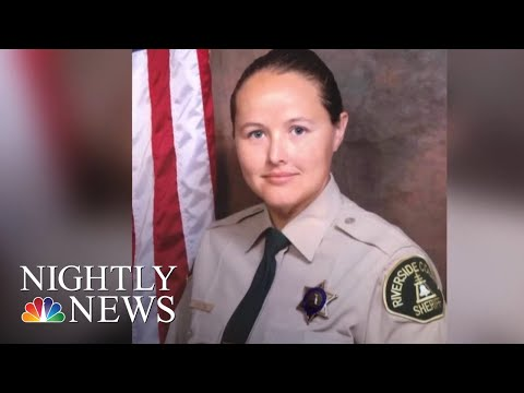 Deputy Tracey Newton Makes Life-Saving Kidney Donation To A Stranger | NBC Nightly News